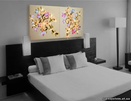 Dipline в квартирах цветы в спальне