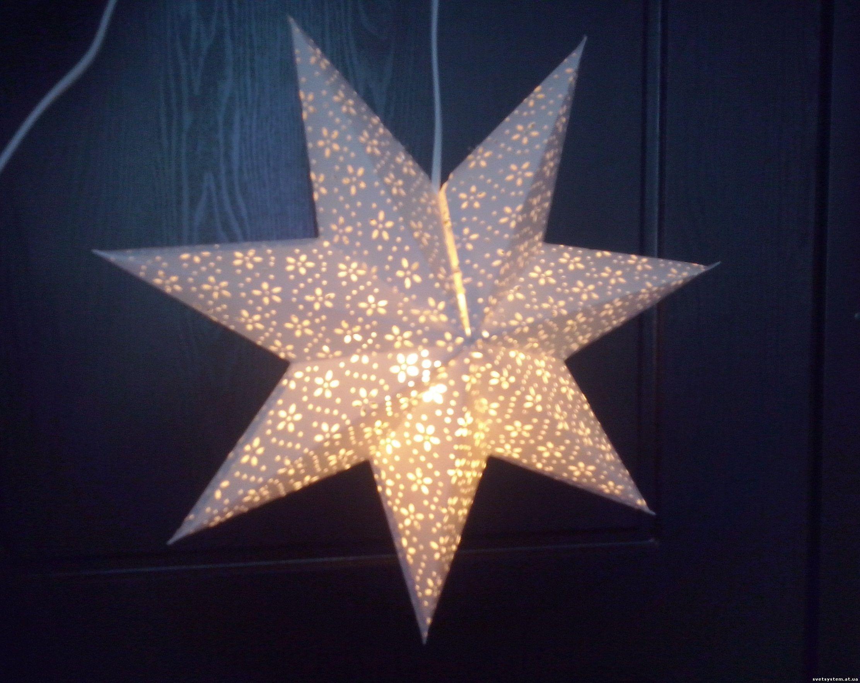 Как сделать светящуюся звездочку 213